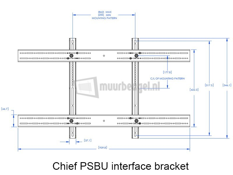 chief-PSBU-interface-bracket