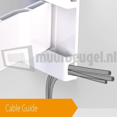Exelium X-flat 31L cable guide