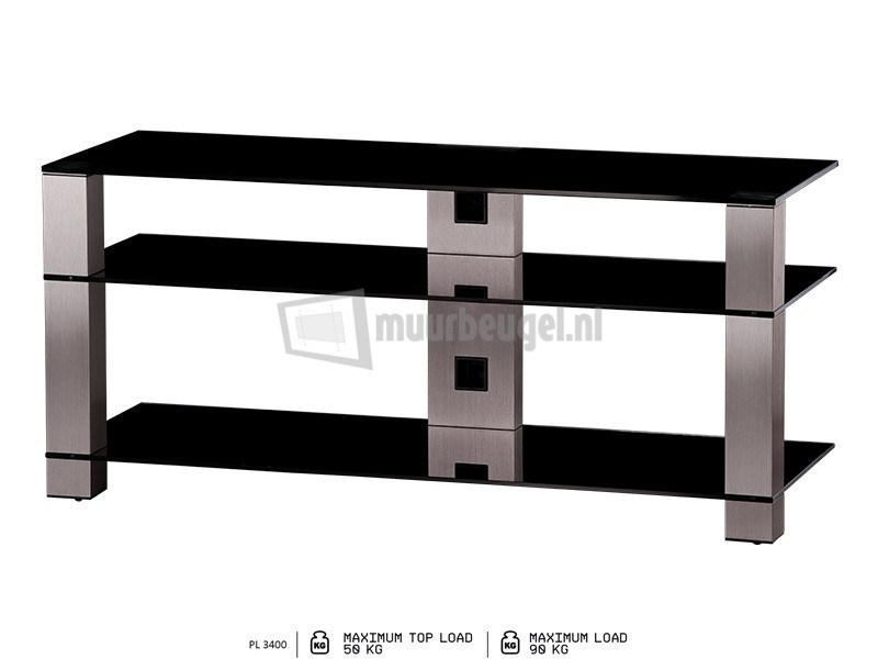 sonorous glazen tv meubel 120cm breed On glazen tv meubel