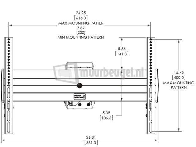 Chief-LCM1U-tv-bracket-specs