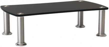 Audio meubel glas - Stoelen voor glazen tafel ...